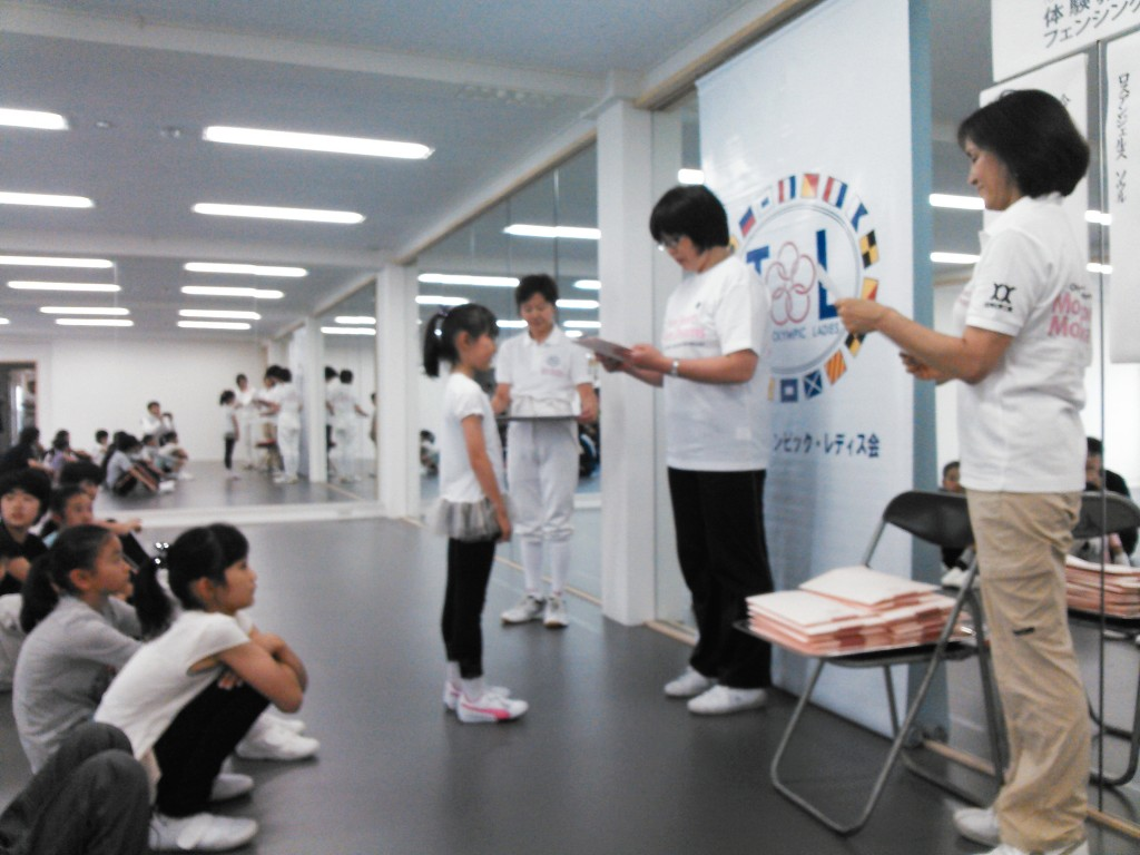 TOL体験教室「フェンシング」